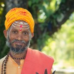 Jour 54 : Serenite dans le sourire d'un Holy Man