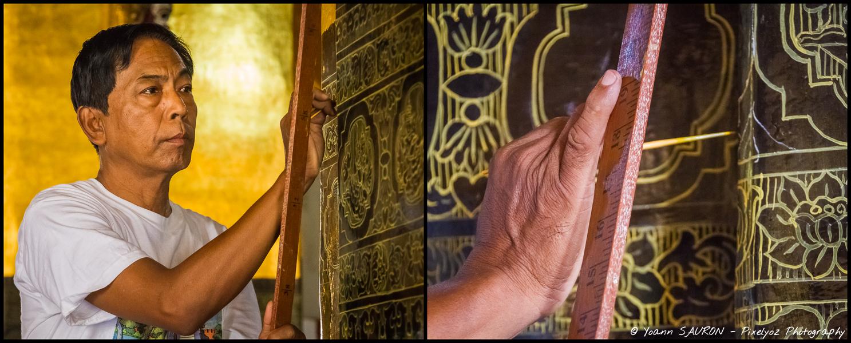 Jour 88 : L'art birman au bout des doigts